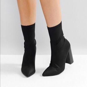 ASOS Pointy Toe Sock Boots